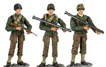 Soldier U.S. WWII Army (Set of 3)