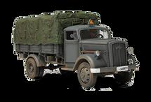 Kfz.305 Blitz Truck German Army, Eastern Front, 1941, w/1 Figure