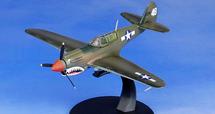 P-40N Warhawk Diecast model 74th Squadron Flying Tigers