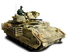 M3A2 Bradley - U.S. Army, Baghdad, 2003