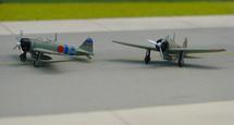 "A6M2b Type 21 2nd Air Fleet ""Hiryu"" Battle Gp., BII-120 and BII-124"