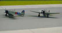 "A6M2b Type 21 2nd Air Fleet ""Hiryu"" Battle Gp., BII-120 and BII-124"