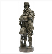 82ND AIRBORNE PARATROOPER ALL AMERICAN D-DAY MINUS 1 1944