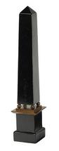 15.75H in. Black Obelisk Authentic Models