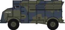 "AEC ""Dorchester"" Armoured Command Vehicle 1:76"