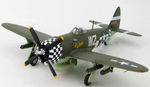 """P-47D Thunderbolt """"228878,"""" 84th Fighter Squadron, 78th Fighter Group"""