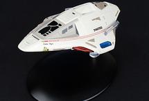 Delta Flyer Shuttle Starfleet, Delta Flyer, w/Magazine
