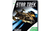 Hirogen Warship Hirogen Hunters, w/Magazine