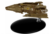 Hirogen Warship Hirogen Hunters, w/Collector Magazine