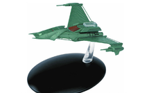 Klingon Augment Attack Ship Klingon Augments, w/Collector Magazine