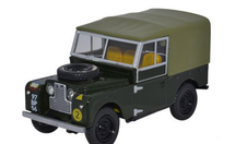 Land Rover Series I British Army REME Diecast Model