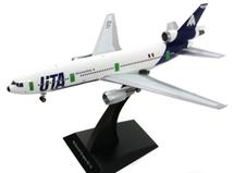 UTA Aeromaritime DC-10-30 F-BTDE Polished with stand