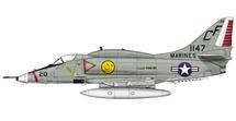 A-4E Skyhawk BuNo 151147/CF 20, VMA-211, Chi Lai, 1968