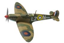 Spitfire Mk I RAF No.66 Sqn, R6800, Rupert Leigh