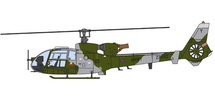 Gazelle HCC.Mk 4 British Army, ZB692