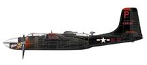 "A-26B Invader USAF 17th BG, 37th BS, #44-34517 ""Monie"", Korea"