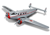 Lockheed 12A Electra Jr. 1937 Texaco Racing Champions & Ertl