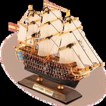 "Satissima Trinidad - ""Age of Sail"" Warship"