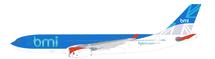 BMI British Midland A330-200 G-WWBD With Stand