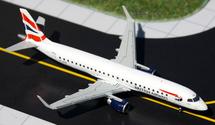 British Airways E-190, G-LCYO Gemini Diecast Display Model