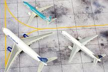 St. Maarten Airport, 3-Piece Set Gemini Diecast Display Model