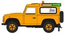 Land Rover Defender 90 RAF Flight Safety