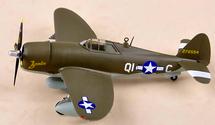 """P-47D Thunderbolt #42-76594 """"Zombie"""", Thomas Bailey"""