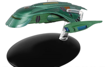 Romulan Shuttle Romulan Empire, w/Collector Magazine