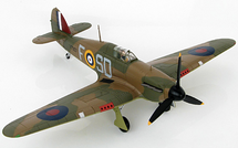 "Hurricane I Sqn Ldr James ""Ginger"" Lacey, No. 501, Gravesend, 1940"