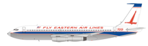 Fly Eastern Air Lines Boeing 720 N8702E Polished With Stand