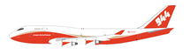 Global Super Tanker Services Boeing 747-400 N744ST `Spirit of John Muir` With stand