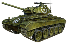M24 Chaffee Light Tank 1st Armored Division, U.S. Army, Italy, 1945