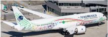 "AeroMexico B787-9 ""Quetzalcotal"" XA-ADL w/Stand"