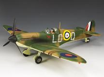 """Spitfire ‰""""Sandy‰"""" Johnstone MKI/II 602 Squadron (British)"""