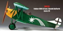 Fokker DVII O/Leut. Harald Auffarth Jasta 29 - Retired