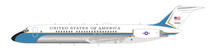 Air Force VC-9C USA (DC-9-32) 73-1683 Polished With Stand