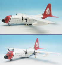 C-130A Hercules Oil Spill Response (L-182) N121TG With Stand