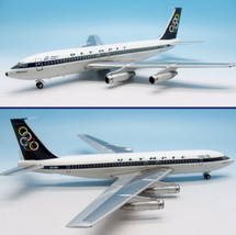 Olympic Boeing 720-051B SX-DBK With Stand
