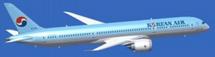 Korean Air Boeing 787-9 Reg# HL8081