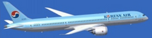 Korean Air Boeing 787-9 Flaps Down HL8081