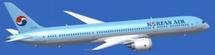 Korean Air Boeing 787-9 Flaps Down HL8081