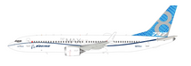 Boeing 737-8 Max House color N8703J With Stand