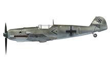 Bf 109E Luftwaffe III/JG 53, Werner Molders, May 1940