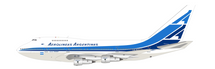 Aerolineas Argentinas Boeing 747SP LV-OHV With Stand