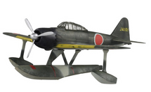 A6M2-N Zero-Sen/Rufe IJNAS 951st Flying Group, Ibusuki, Japan, 1944