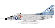 A-4C Skyhawk USN VA-153 Blue Tail Flies, Peter Mongilardi