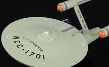Constitution-class Heavy Cruiser Starfleet, USS Enterprise, w/Magazine Eaglemoss Collections