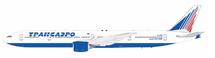 Transaero B777-300 EI-UNM w/Stand