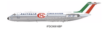 Alitalia Cargo System DC-9-32F I-DIBK Polished With Stand