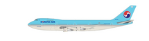 Korean Air Boeing 747-200 HL7463 With Stand